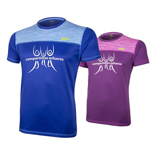 """Camiseta Running """"Compartimos esfuerzo"""""""