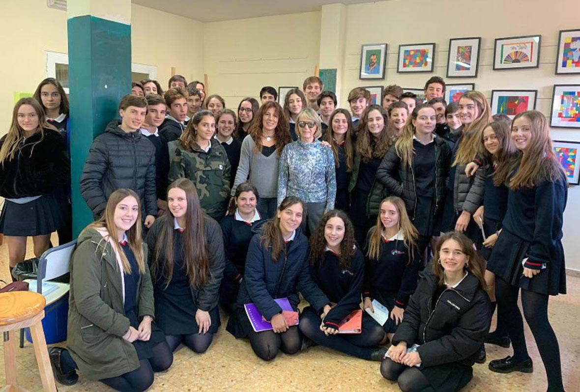 Alumnos Escuela Esclavas Valencia