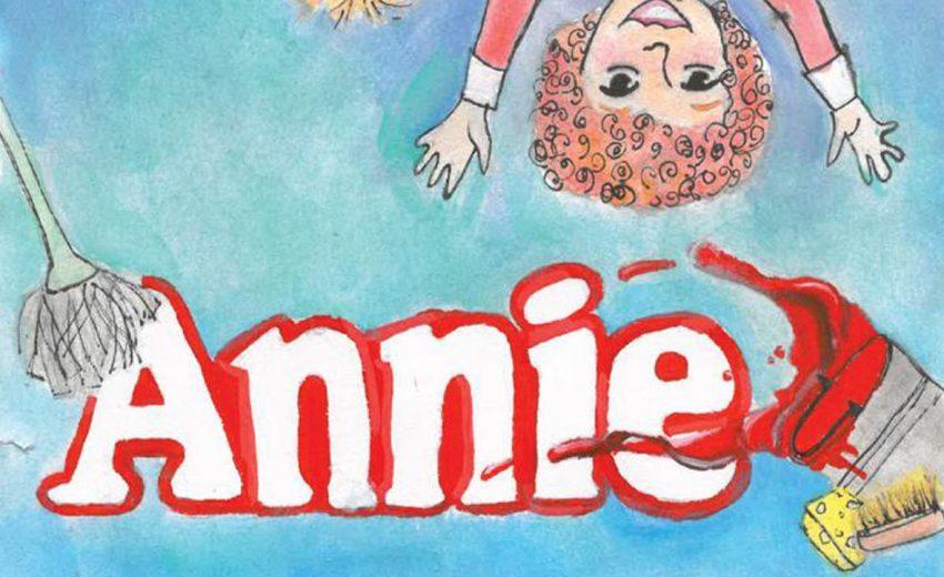 Cabecera del musical Annie