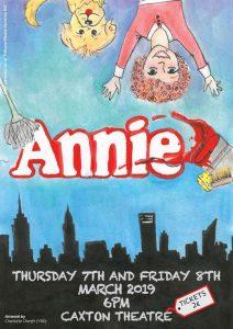 Cartel del Musical Annie