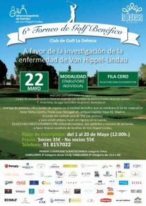 Torneo de Golf Benéfico Club La Dehesa