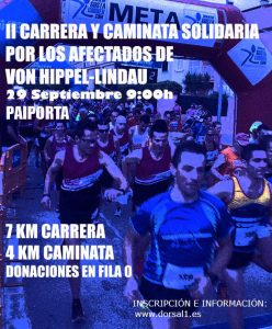 2ª Carrera y Caminata solidaria VHL Paiporta