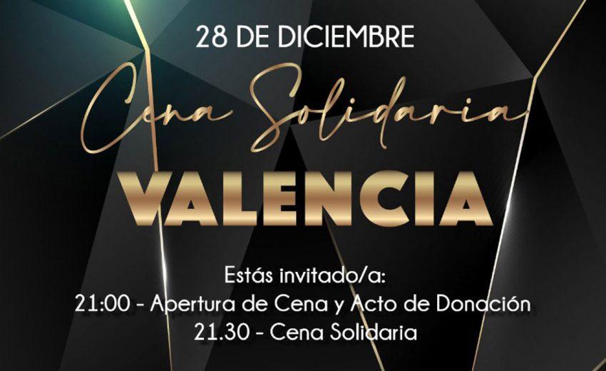 Cabecera Cena Solidaria Valencia 2019